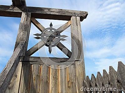 Details of Zolochiv Castle gate