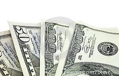 Detalhe da moeda dos E.U.