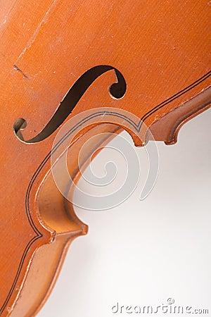 Detalhes de violino