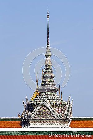 Detalhes do Wat Phra Kaeo