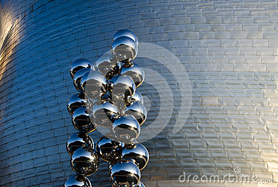 Detalle de Guggenheim Imagen editorial