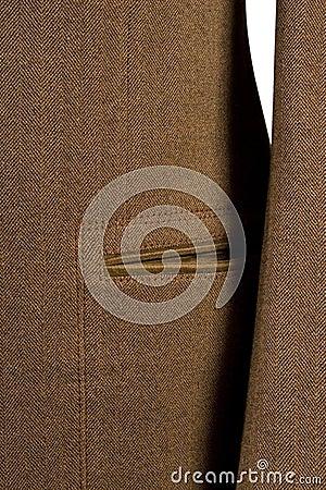 Detalle del cuf y del bolsillo