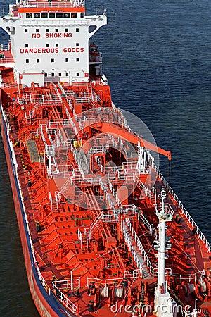 Detalles de un petrolero