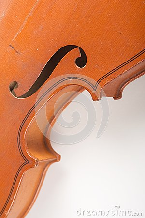 Detalles del violín