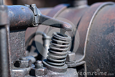 Detasil Of Ancient Machinery Stock Images - Image: 25979174