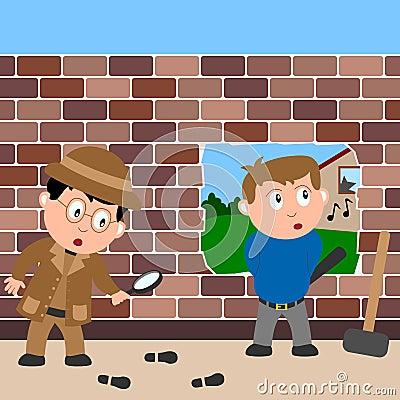 Detective and Burglar