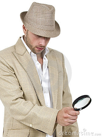 Detective and magnifier