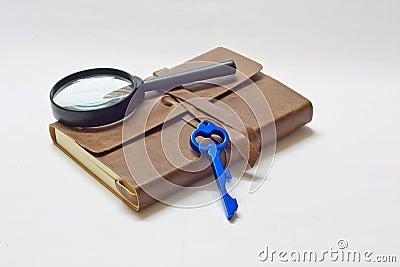 Detective notebook & KEY
