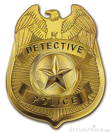 Detective Police Badge