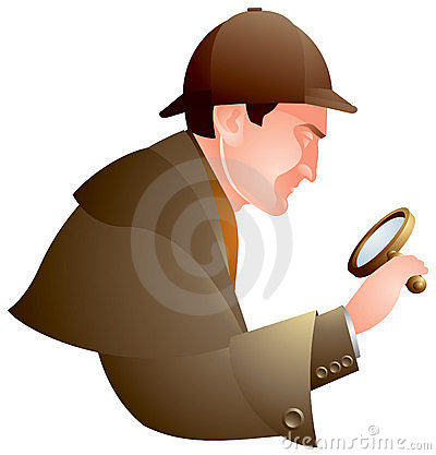 Detective, searching, Holmes