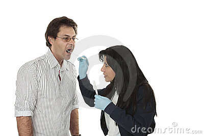 Detective at work forensic evidence