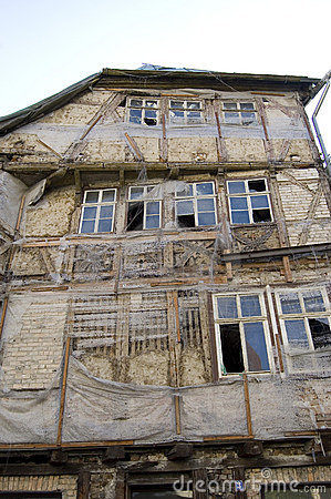Deteriorated Building