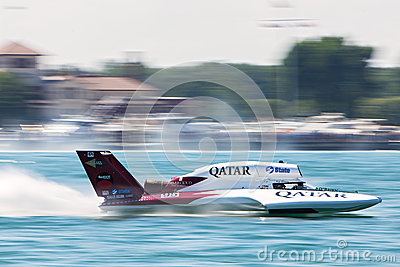 2013 Detroit APBA Gold Cup Races Editorial Photo