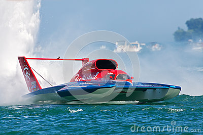 2013 Detroit APBA Gold Cup Races Editorial Stock Image