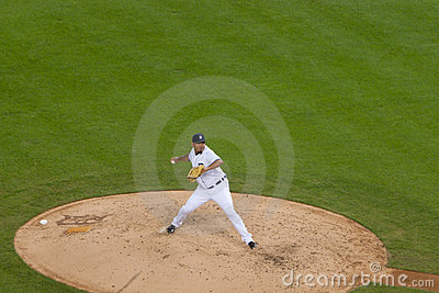 Detroit Tiger Pitcher Joaquin Benoit Editorial Image
