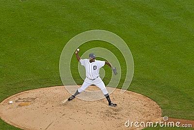 Detroit Tiger Pitcher Jose Valverde Editorial Stock Image