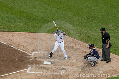 Detroit Tiger Victor Martinez Editorial Stock Photo