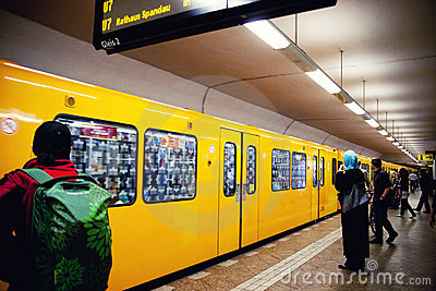 Deutche bahn station Editorial Stock Photo