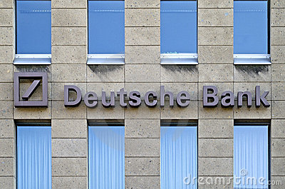 Deutsche Bank AG Editorial Photography