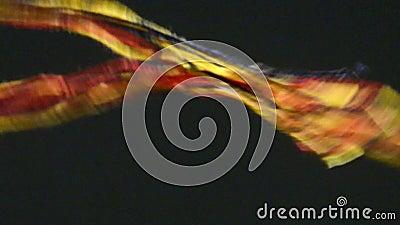 Deutsche nationale Farben stock footage