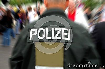 Deutscher Polizist