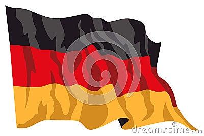 Deutschland flag 1