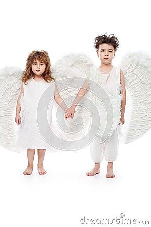 Deux anges