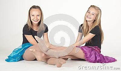 Photos de l'adolescence de jupes