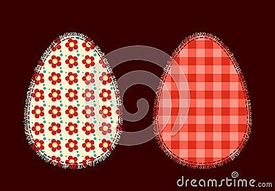 Deux oeufs de pâques