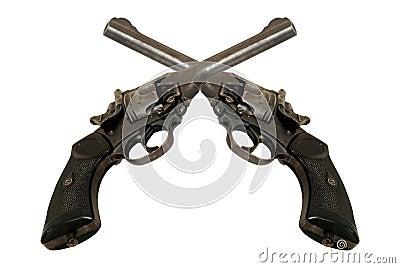 Deux revolvers