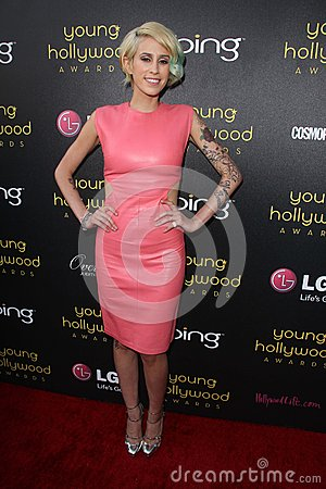 Dev at the 14th Annual Young Hollywood Awards, Hollywood Athletic Club, Hollywood, CA 06-14-12 Editorial Photography