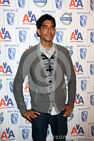 Dev Patel Editorial Stock Image