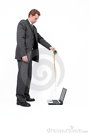 Devastation laptop