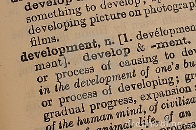 Development - business word