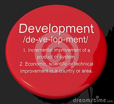 Development Definition Button