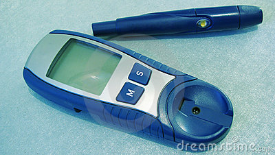 Device for measuring blood sugar level