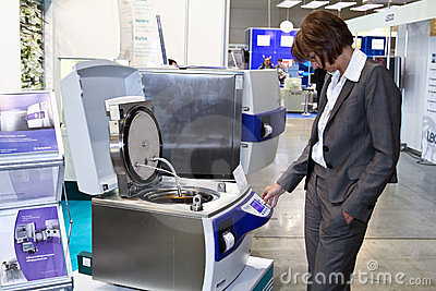 The device for the preparation and sterilization Editorial Image