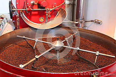 Device to roasting and drying coffee beans