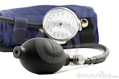 Device used to check the blood-pressure isolated