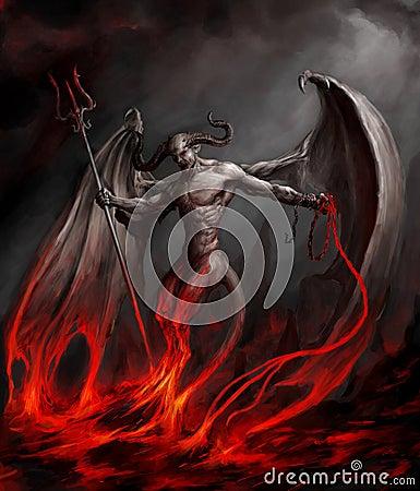 Free Devil Stock Image - 21679401