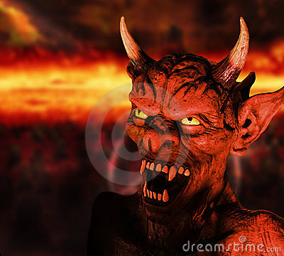 Free Devil Royalty Free Stock Photography - 21679757