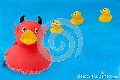 Devil duck 1