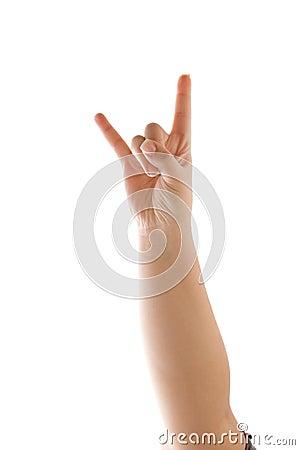 Devil Horns Hand