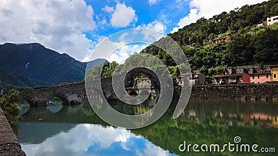 Devil s Bridge, Borgo-a-Mozzazno, Italy