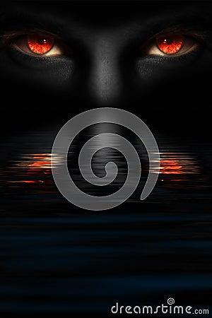 Free Devil S Eyes Stock Photo - 10171540