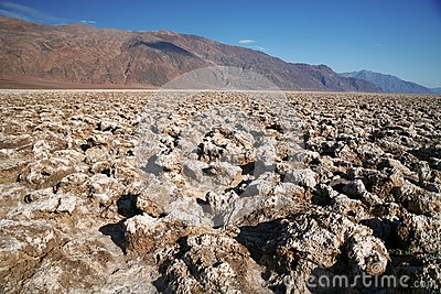 Devil s Golf Course - Death Valley