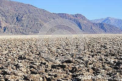 Devil s Golf Course, Death Valley, California