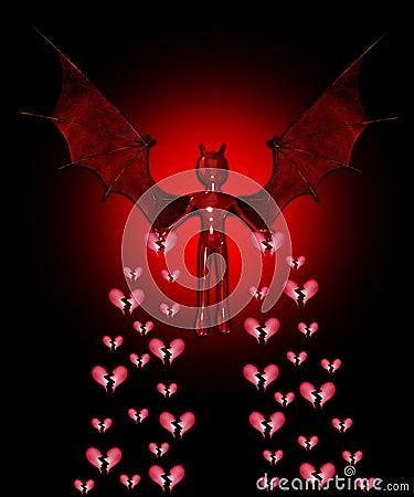Devil Spreading The Heartbreak