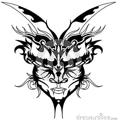 devil horns tattoo. Black Bedroom Furniture Sets. Home Design Ideas