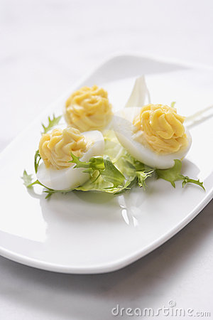 Free Deviled Egg Appetizer Royalty Free Stock Photos - 12753148